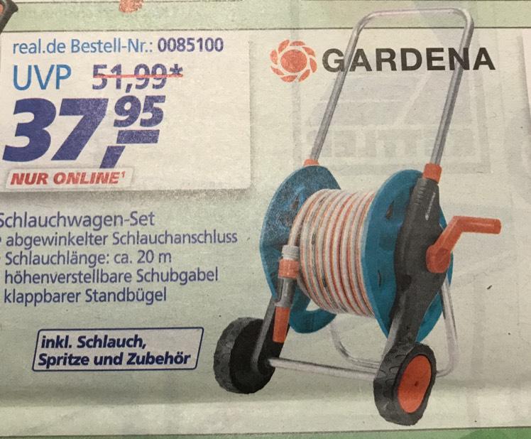 [Real online] Gardena Schlauchwagen 8013-27 für 37,95€