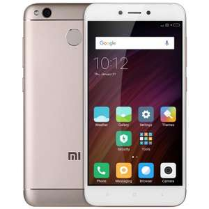 Xiaomi Redmi 4X 4G Smartphone  -  GLOBAL VERSION 3GB RAM 32GB ROM  GOLDEN - mit Band 20