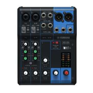 [pianelli] Yamaha Mixer MG06X, 6 Känale, Analoges Mischpult - 29% unter Idealo PVG
