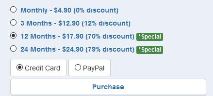 smartdnsproxy - bis zu 79% Rabatt (2 Jahre für 24,99$/24,04€)