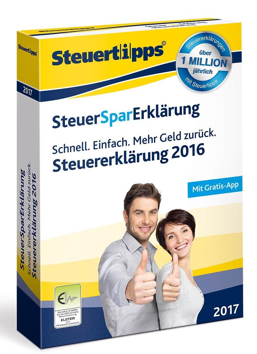 [shoop.de] SteuerSparErklärung 2017: 40% Cashback + 15€ Amazon.de Gutschein* – effektiv nur 4,88€!