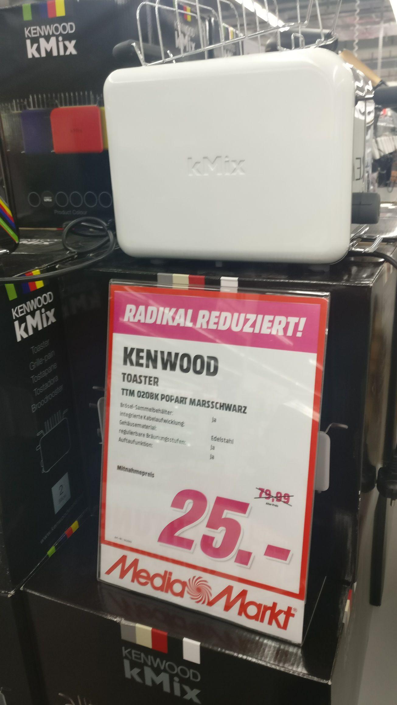 Kenwood TTM 020 Kmix Toaster zum Top Preis!Düsseldorf Bilker Acarden.