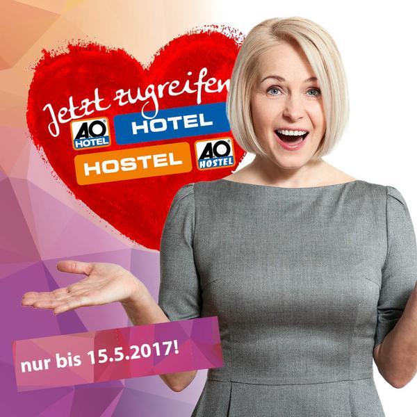 A&O Gutschein 2 Nächte im Doppelzimmer für 79,00€ zum Muttertag