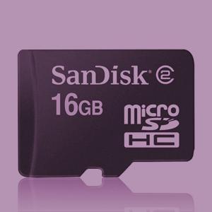 kein versauter Stern - nur ne Sandisk mSDHC - mit 16GB + Adapter + Class 6 in der Praxis auf jeden