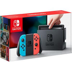 Lieferbar: Nintendo Switch Neon-Rot/Neon-Blau inkl. Versand über Saturn eBay
