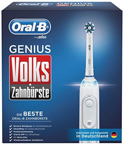 Oral-B Volks-Zahnbürste GENIUS Elektrische Zahnbürste