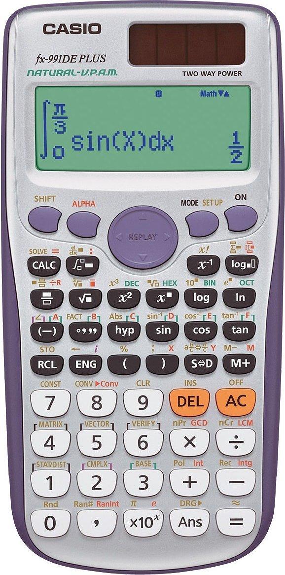 Casio FX-991DE Plus (wissenschaftlicher Taschenrechner) für 19€ [Amazon Prime]