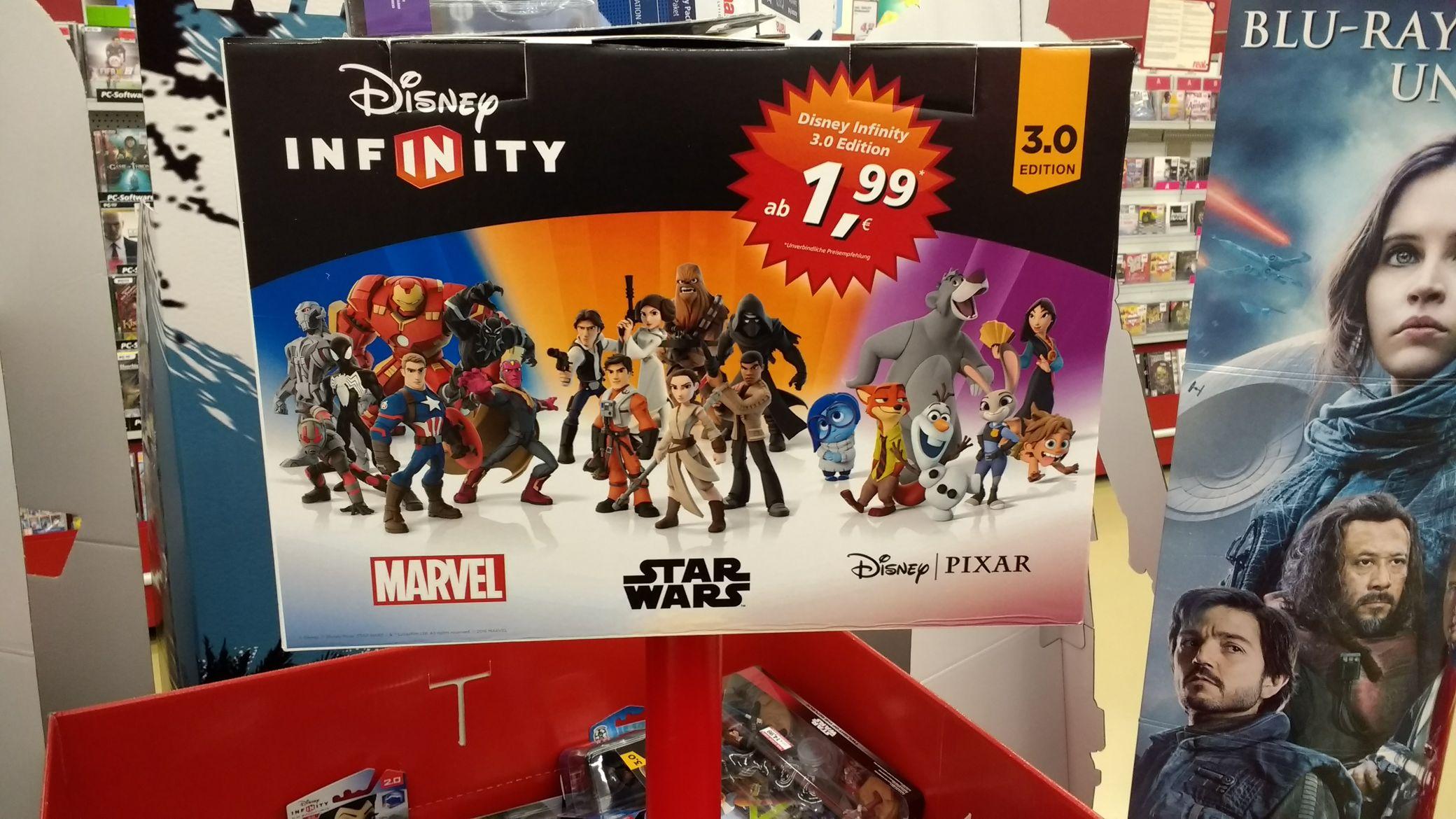 [Lokal Real Gießen] Diverse Disney Infinity Figuren für 1,99€ UPDATE: Wohl bundesweit