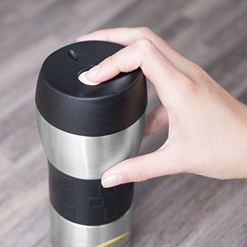 Travel Mug/Thermobecher 400ml für 6,99€ statt 19,99€ mit Prime kostenloser Versand [amazon.de]