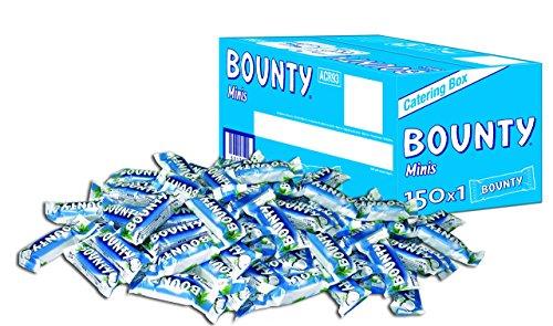 Bounty Minis, 1 Packung mit 150 Riegeln 4,275 kg @amazon.de