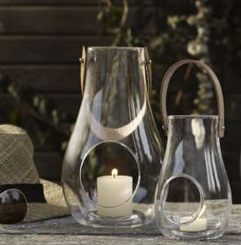 Holmegaard Design with light Laterne im 2er-Set reduziert + 10% extra Rabatt bei Connox