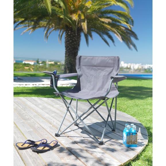 Campingstuhl  mit Armlehnen - Dank Newsletter Gutschein 5 Stühle für 23€ - 5€/Stuhl