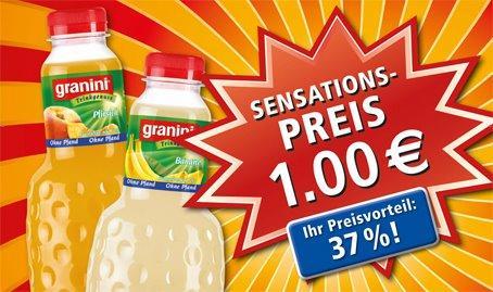 Granini Säfte für 1,00 € bei REWE