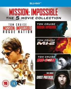 Mission Impossible - 1-5 Boxset (Blu-ray) für 14,08€ inkl. VSK (Zavvi)