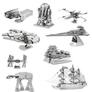 Diverse 3D-Metall Puzzles Star Wars/Schiffe/Züge/Flugzeuge etc. für ca 5 Euro [@eBay]