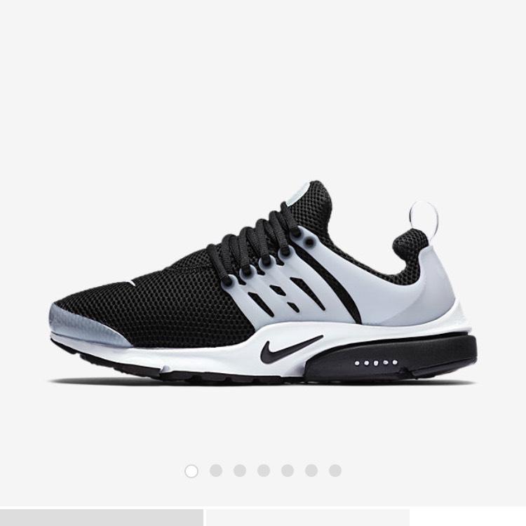 [nike.com] Nike Air Presto schwarz/weiß oder weiß