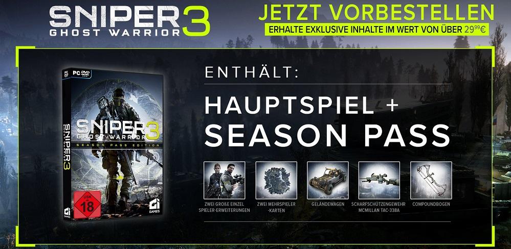 Sniper Ghost Warrior 3 24,99€ MMOGA