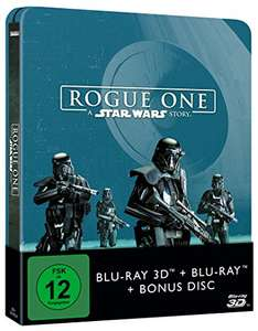 Rogue One - A Star Wars Story (2D+3D) Steelbook [3D Blu-ray] [Limited Edition] [Amazon]