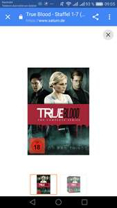 TRUE BLOOD - STAFFEL 1-7 (33 DISCS) - (DVD)  , saturn
