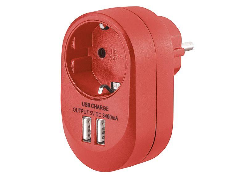 LIDL (offline) SILVERCREST USB-Steckdosenadapter - verschiedene Farben