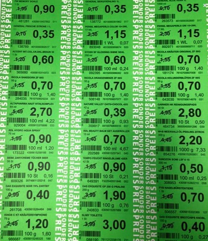 Green Label Preise ab 10.05.2017 (ROSSMANN)
