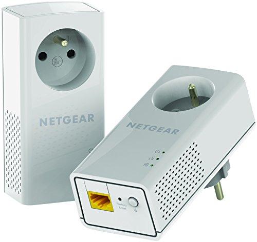 Netgear PLP1200 - Powerline Netzwerk Starterset mit bis zu 1200 Mbit/s