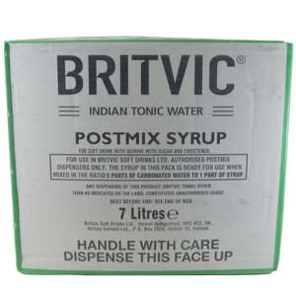 Postmix Sirup Britvic Tonic Water 7 Liter