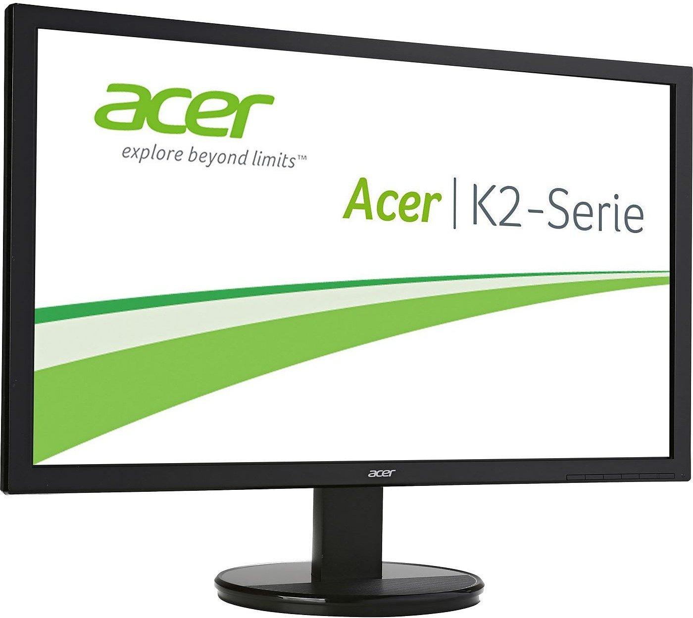 Acer K242HQLBbid Monitor 23,6'' FHD TN, 300cd/m², 100.000.000:1, 5ms, HDMI + DVI, VESA (Notebooksbilliger)