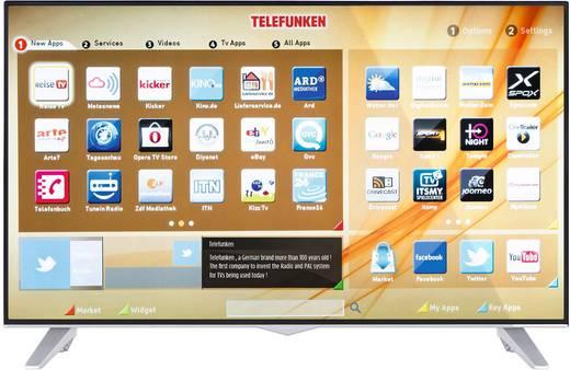 Telefunken D43U309X5CW LED-SMART TV (43 Zoll, UHD, SMART TV, Twin-Tuner, PVR, WLAN) [@Conrad]