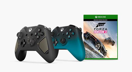 Xbox One Controller + Forza Horizon 3 für ~62€ im polnischen MS Store