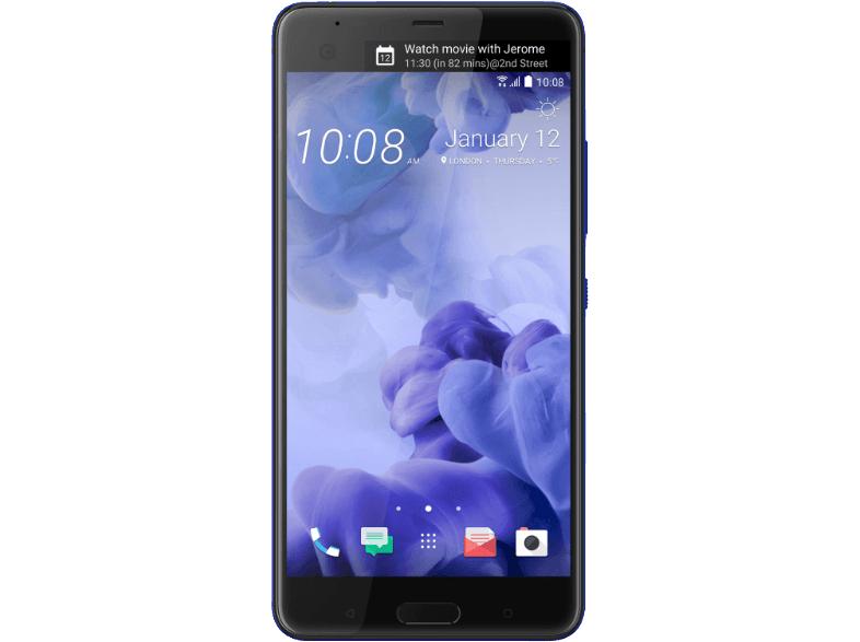 HTC U Ultra 64 GB, 5.7 Zoll Dual Display (13,2 cm (5,7 Zoll), 16 MP Frontkamera, 64GB Speicher, Android 7) @ Saturn