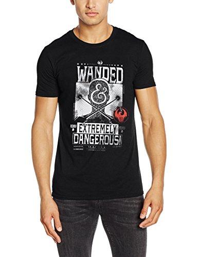 CID Herren T-Shirts Fantastic Beasts-Wanded Poster Gr. L