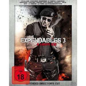 The Expendables 3 - A Man's Job (Extended Director's Cut, Limited Edition, Steelbook) (Blu-ray) für 6,99€ (Müller)