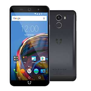 Wileyfox Swift 2 Plus SIM-Free Smartphone 32GB + 3GB with Screen Replacement Card and Hard Case - Midnight Blue (amazon.co.uk)