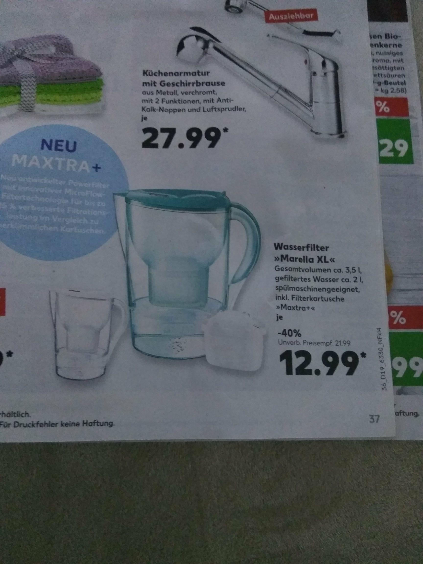Wasserfilter Marella XL inkl. Filterkartusche Kaufland