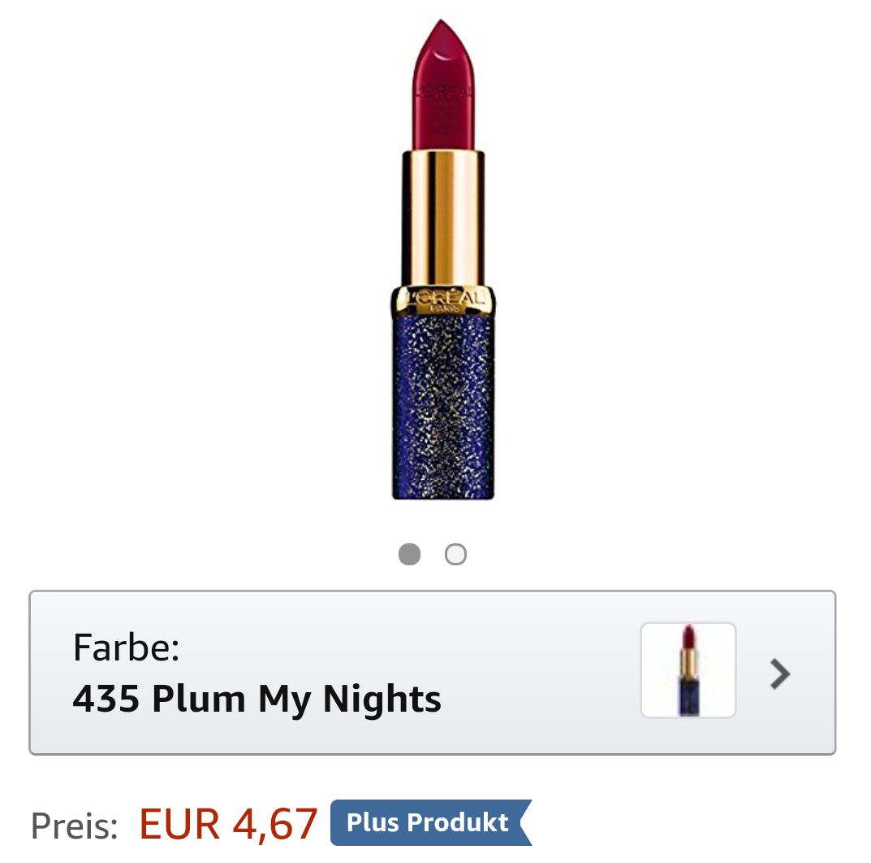 L'Oréal Color Riche Lippenstift als plus Produkt