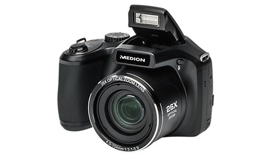 Medion LIFE P44029 Superzoom inkl. kostenloser Versand [http://www.medion.com ] für 119€ statt 177,99€