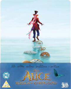 Alice im Wunderland: Hinter den Spiegeln (3D + 2D Version) - Limited Edition Steelbook (Blu-ray) für 14,08€ inkl. VSK (Zavvi)