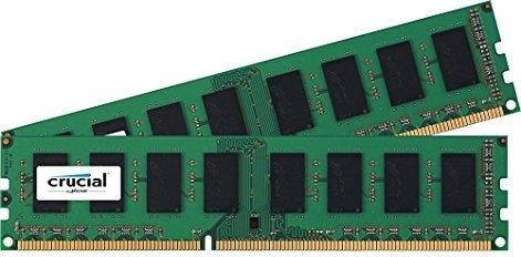Crucial 16GB Kit - DDR3-L-1866 (PC3L-14900) CL13 [Crucial] PVG: 121,64 €