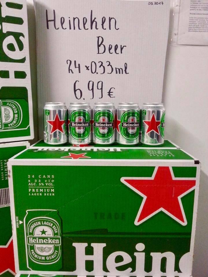 [LOKAL Dortmund] 24x 0,33l Heineken Bierdosen MHD 30.05.2017 pfandfrei