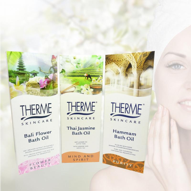Therme Skincare Bath Oil - Badeöl-Set