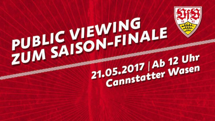 [LOKAL Stuttgart] Gratis Public Viewing VfB Stuttgart gegen den FC Würzburger Kickers am 21.05