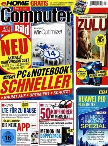 Computerbild inkl. DVD im Halbjahresabo (12 Ausgaben) für 56,40€ lesen und 50€ Prämie erhalten