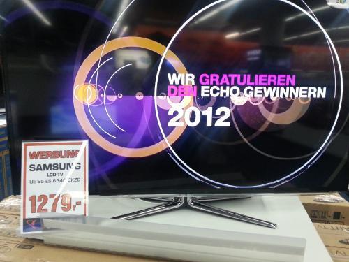 Samsung UE55ES6340 für 1279€ @Saturn.  top Preis für neues 2012er Modell.