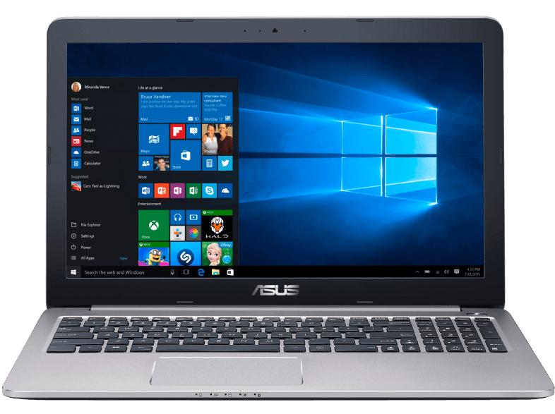 [Saturn] Asus A501UX-DM194T 39,62 cm (15,6 Zoll Full HD) Notebook (Intel Core i7 6500U, 8GB RAM, 1TB HDD, 256GB SSD, Nvidia GTX 950M, Win 10 Home) grau für 799,-€ *Bei Abholung*