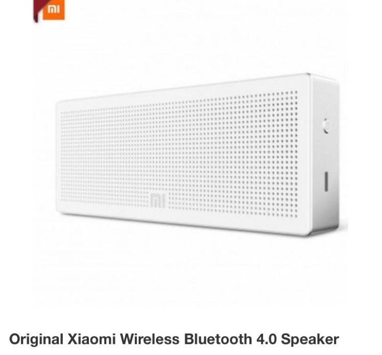 Original Xiaomi Wireless Bluetooth 4.0 Lautsprecher für 17,34€ inklusive Versand [Gearbest]