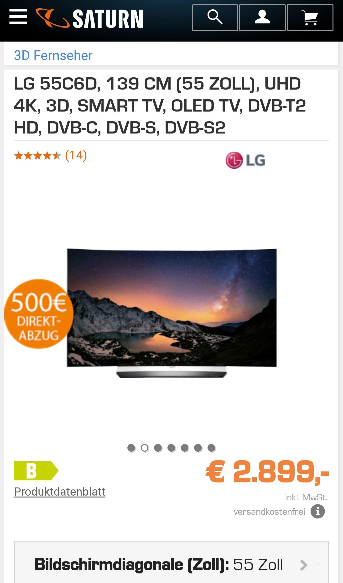 LG OLED 55C6D