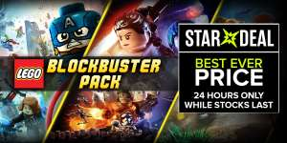 LEGO Blockbuster Pack (Steam) für 9,59€ (BundleStars)