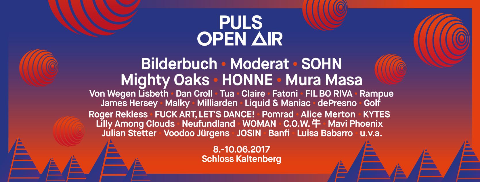 10% auf Tickets zum PULS-Open-Air im Juni