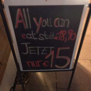 ALL YOU CAN EAT IM CHA (BREMEN)